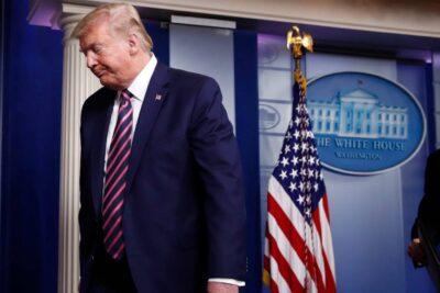 Más de 100 personas intoxicadas en Estados Unidos tras recomendaciones de Trump para tratar el coronavirus