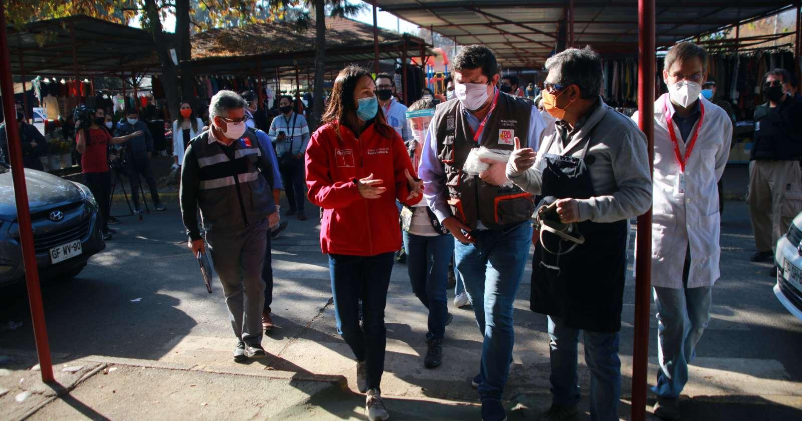 Seremi de Salud RM realizó balance de fiscalizaciones por coronavirus