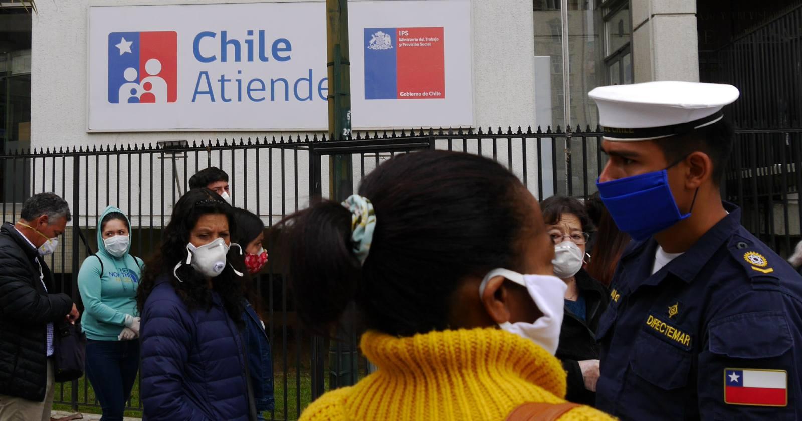 """""""ChileAtiende llama a preferir trámites en línea en medio de pandemia"""""""