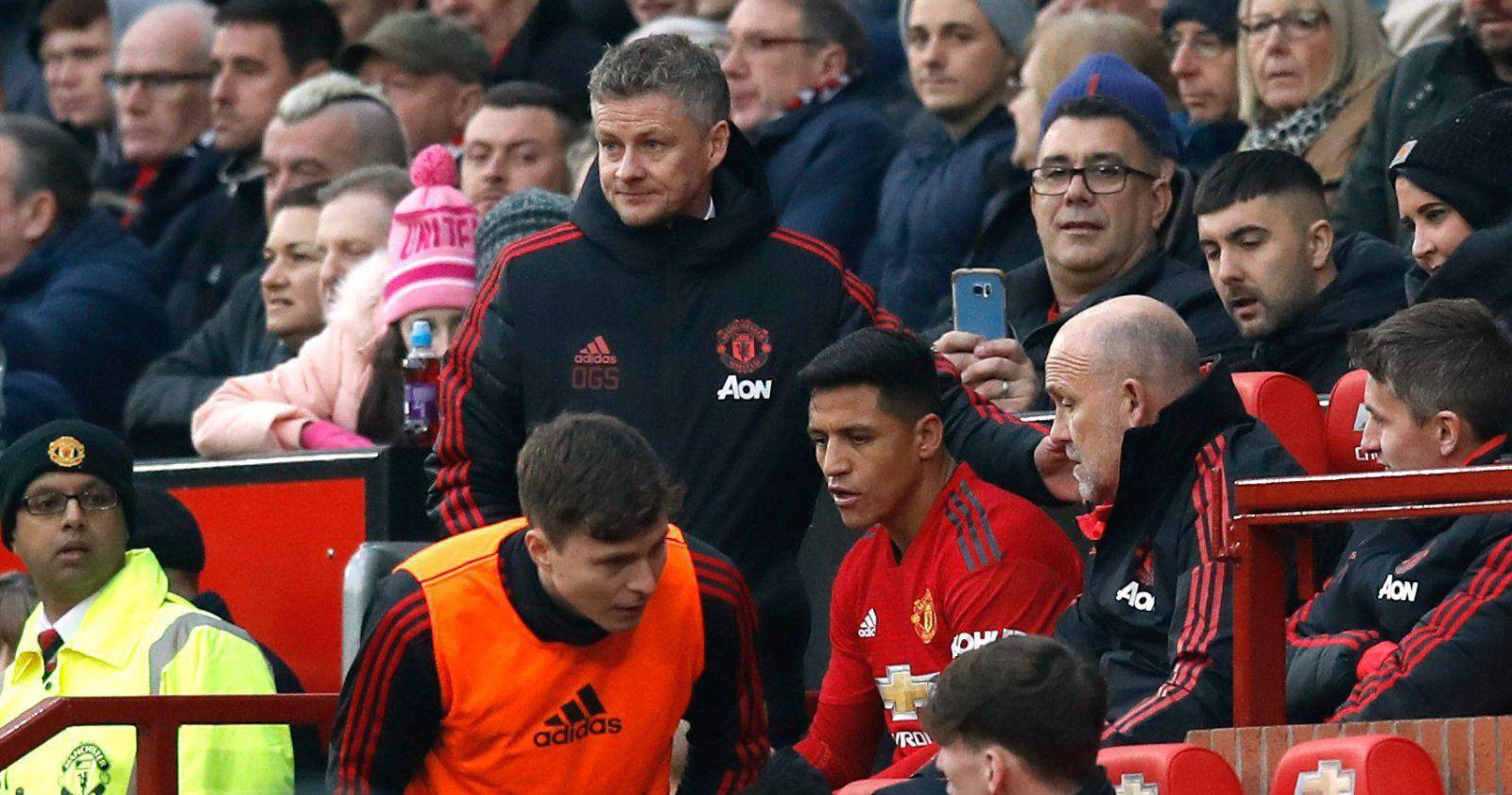 En Inglaterra aseguran que Alexis Sánchez está fuera de los planes de Solskjaer para el United