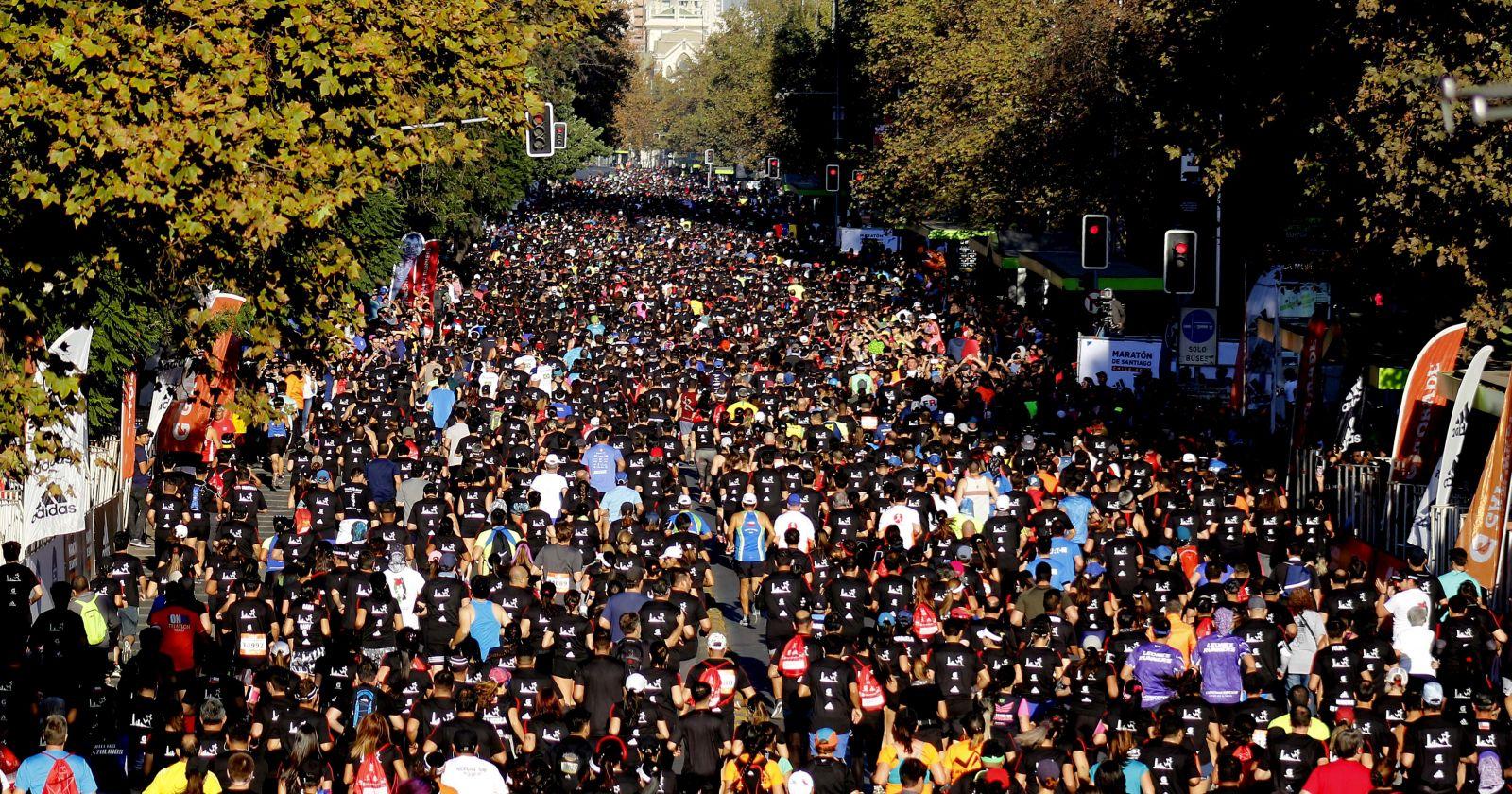 Maratón de Santiago suspendió su edición 2020 por el coronavirus