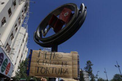 PDI se querellará por falsa denuncia de centro de torturas en Estación Baquedano