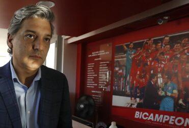 Sebastián Moreno oficializó su renuncia a la ANFP