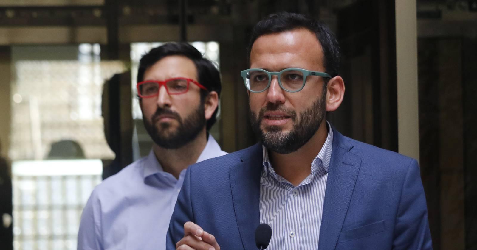 """Pablo Vidal (RD): """"No solo estamos en lo legal, sino que es la forma correcta de hacer política"""""""