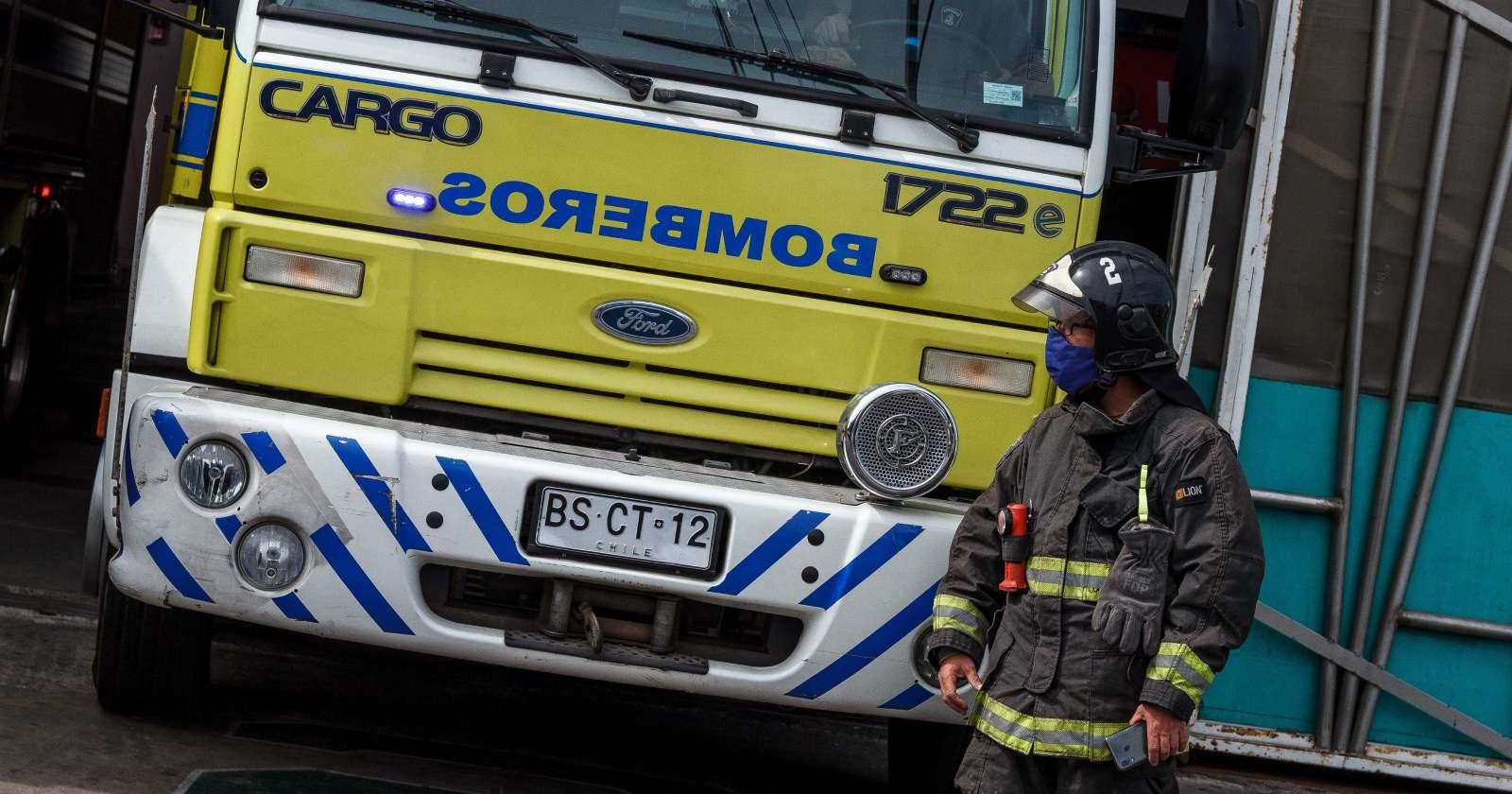 """""""Incendio en viviendas de Antofagasta dejó cerca de 50 damnificados"""""""