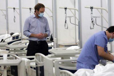 Centro hospitalario de Espacio Riesco recibe a sus primeros pacientes