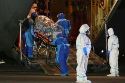 FACh inicia traslado de pacientes Covid-19 desde Hospital Padre Hurtado al Biobío