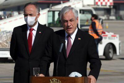"""Presidente Piñera y las noticias falsas: """"Veo a algunos que denuncian, pero contribuyen poco"""""""