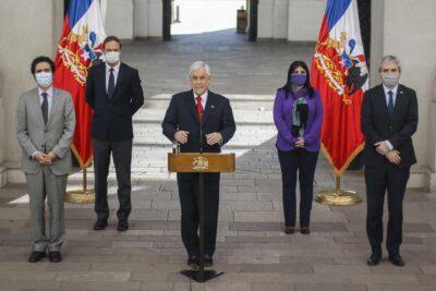 Piñera llama a diálogo y unidad