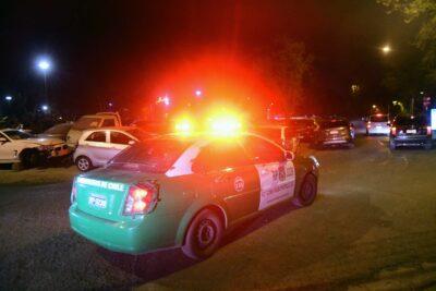 Encuentran cuerpo de hombre baleado al interior de un vehículo en La Pintana