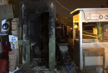 El Bosque: turba saquea y provoca daños en futura estación Lo Martínez del Metro
