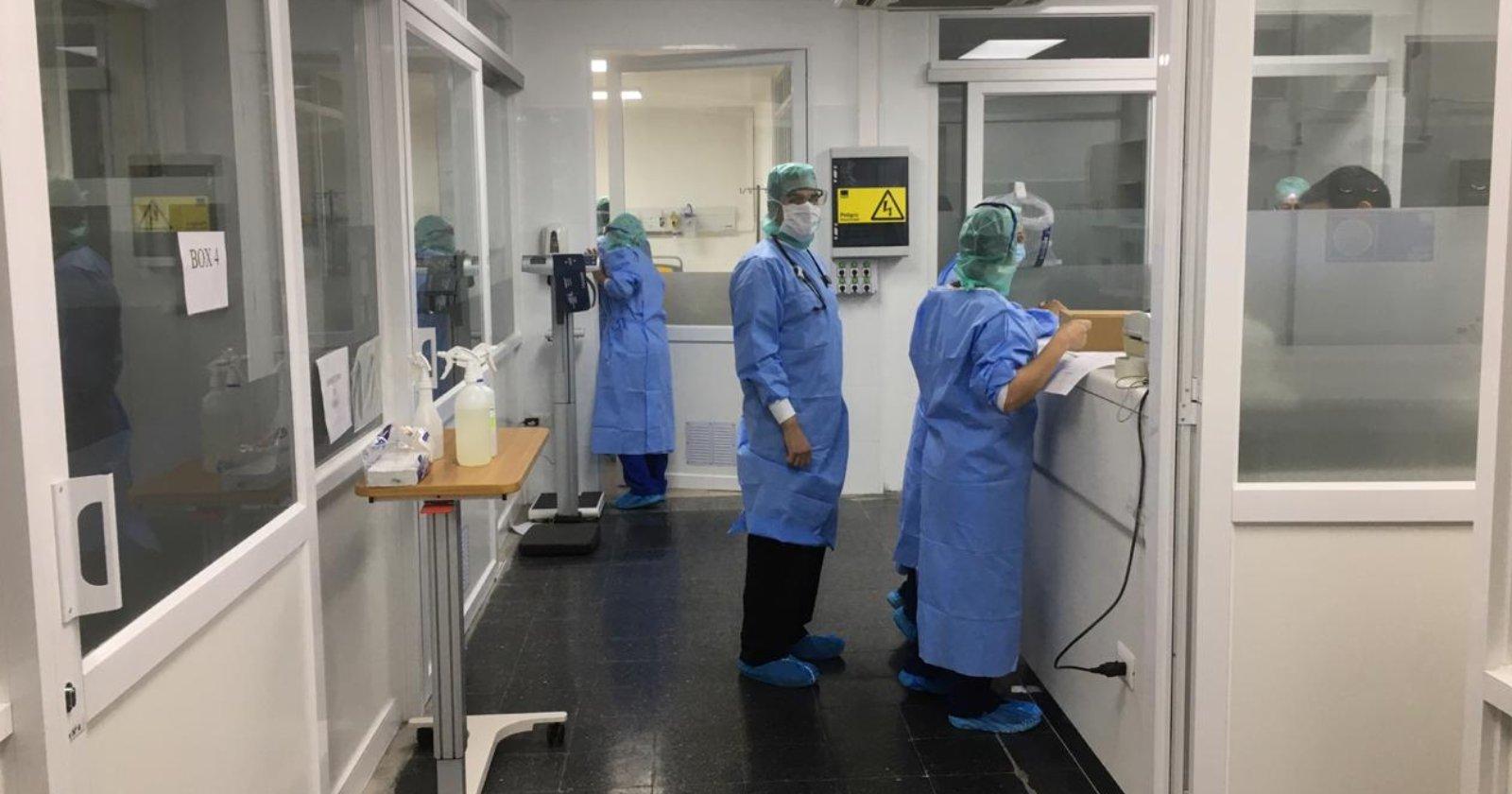 """""""""""Codo a codo"""": la iniciativa que va en ayuda de los recintos hospitalarios en medio de la pandemia"""""""