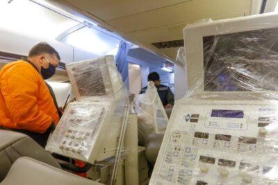 Ministerio de Salud entregó seis ventiladores mecánicos al Hospital de Iquique