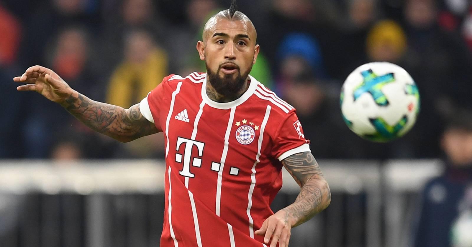 Arturo Vidal aparece en listado de los fichajes más caros del Bayern Múnich