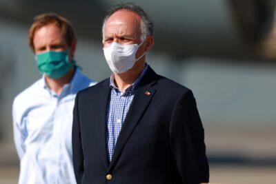 Gobierno recibe donación de insumos médicos y ventiladores mecánicos desde China