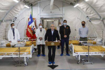 """Piñera reconoce que el sistema de salud """"está muy cerca del límite"""""""