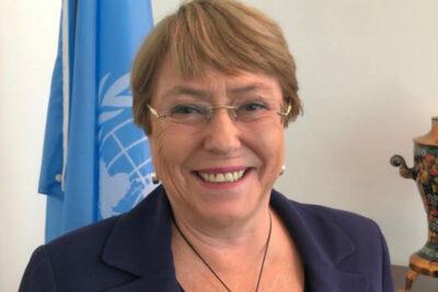 """Michelle Bachelet descarta candidatura presidencial: """"Sobre mi cadáver"""""""