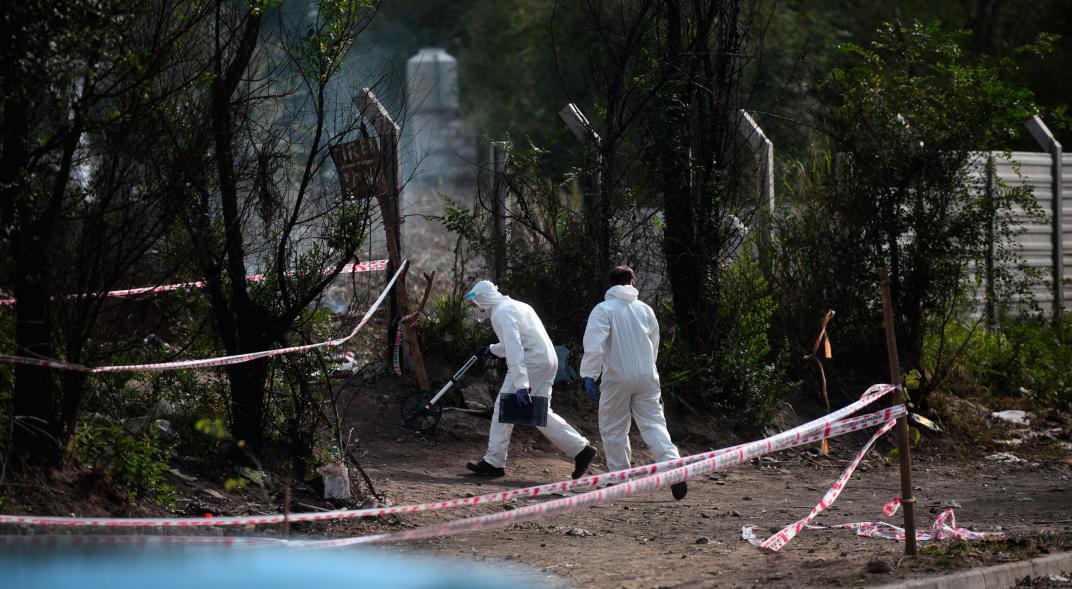 Macabro asesinato en Argentina: hallan cuerpo incinerado de niña en basural