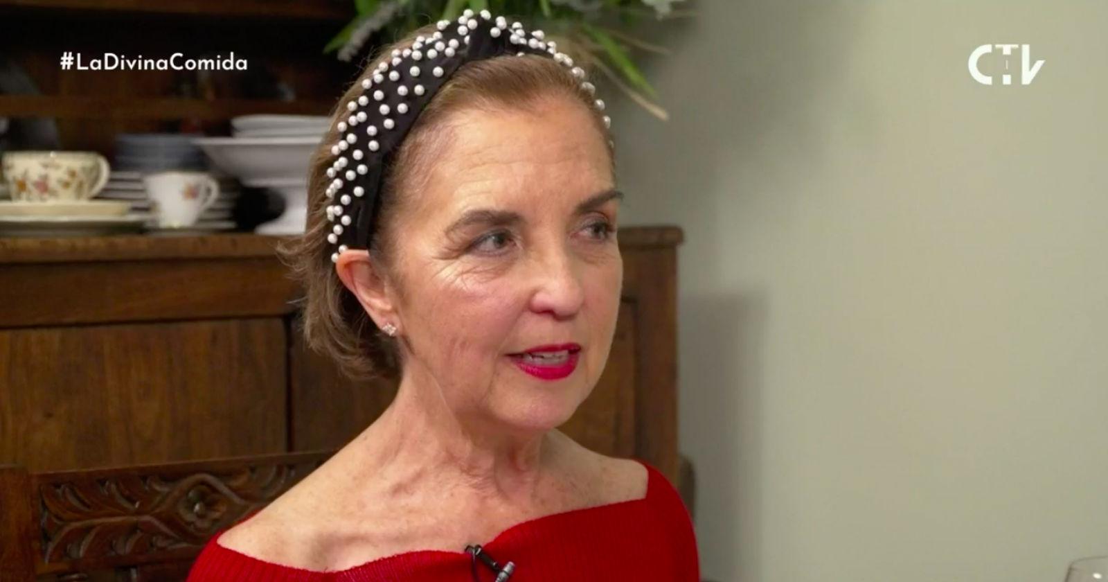 El postergado capítulo de La Divina Comida que protagonizó Gloria Hutt