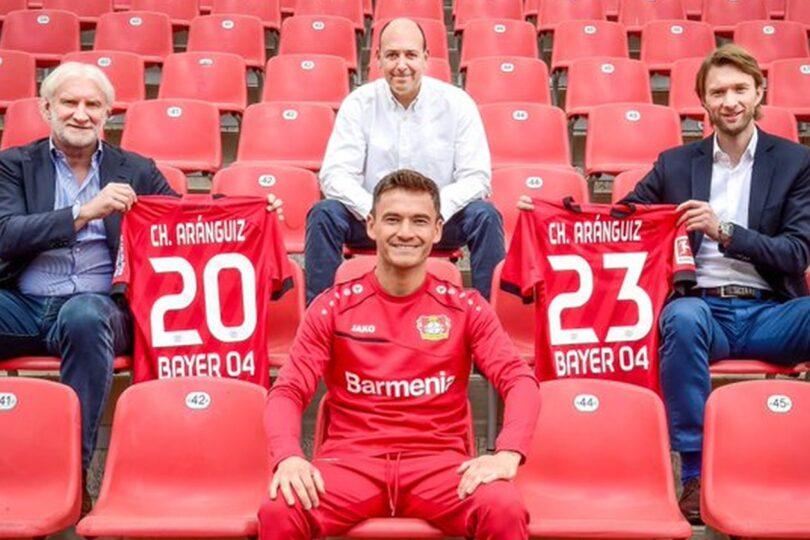 Charles Aránguiz renovó con el Bayer Leverkusen hasta junio del año 2023
