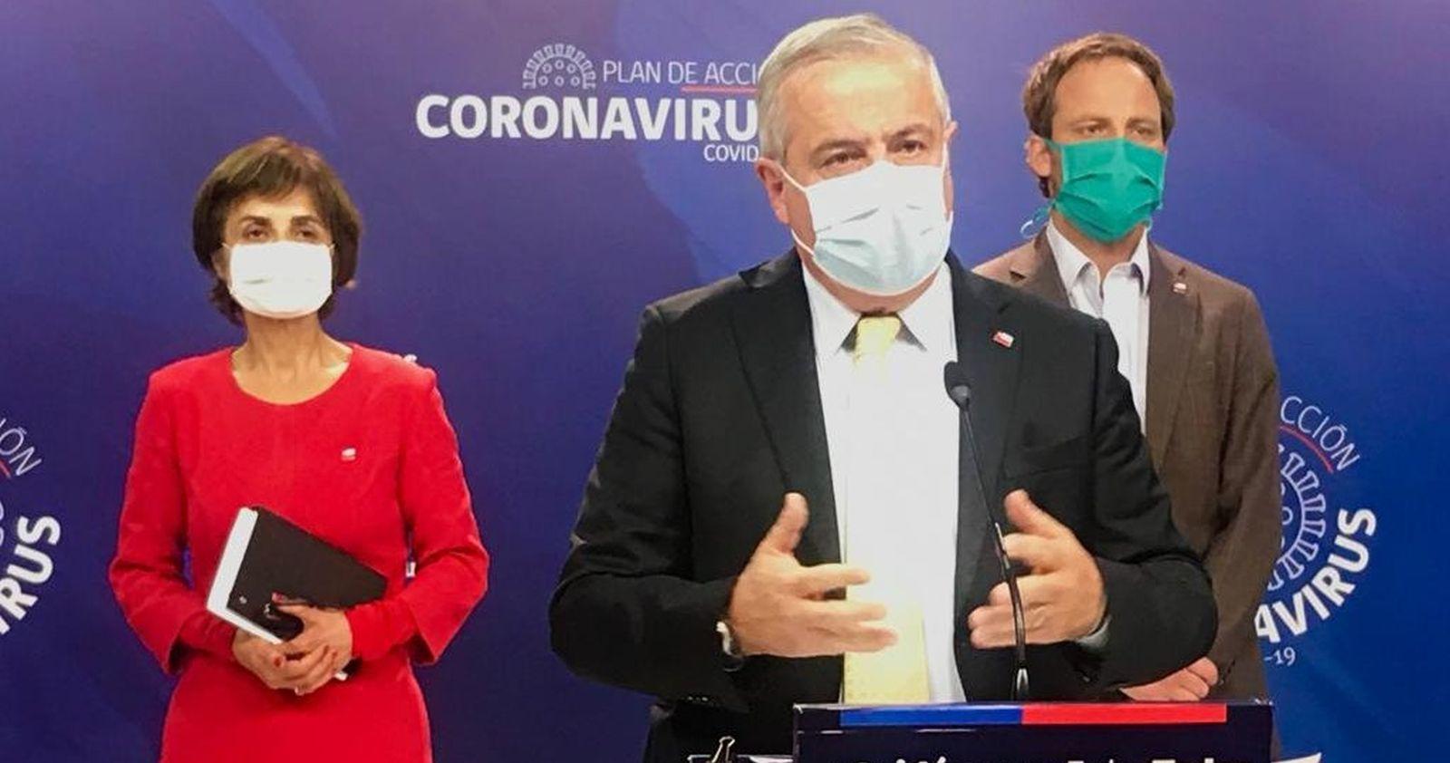 Coronavirus: Región Metropolitana concentra el 85% de los nuevos casos
