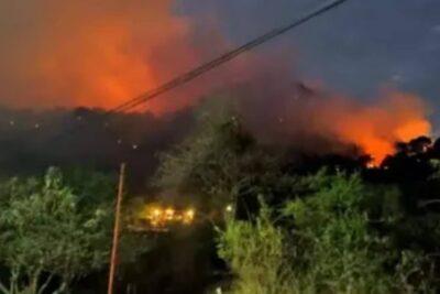 Por hacer un Tik Tok: joven provoca incendio que consumió más de 60 hectáreas en México
