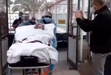 Mujer de 104 años superó el coronavirus en el Instituto Nacional de Geriatría