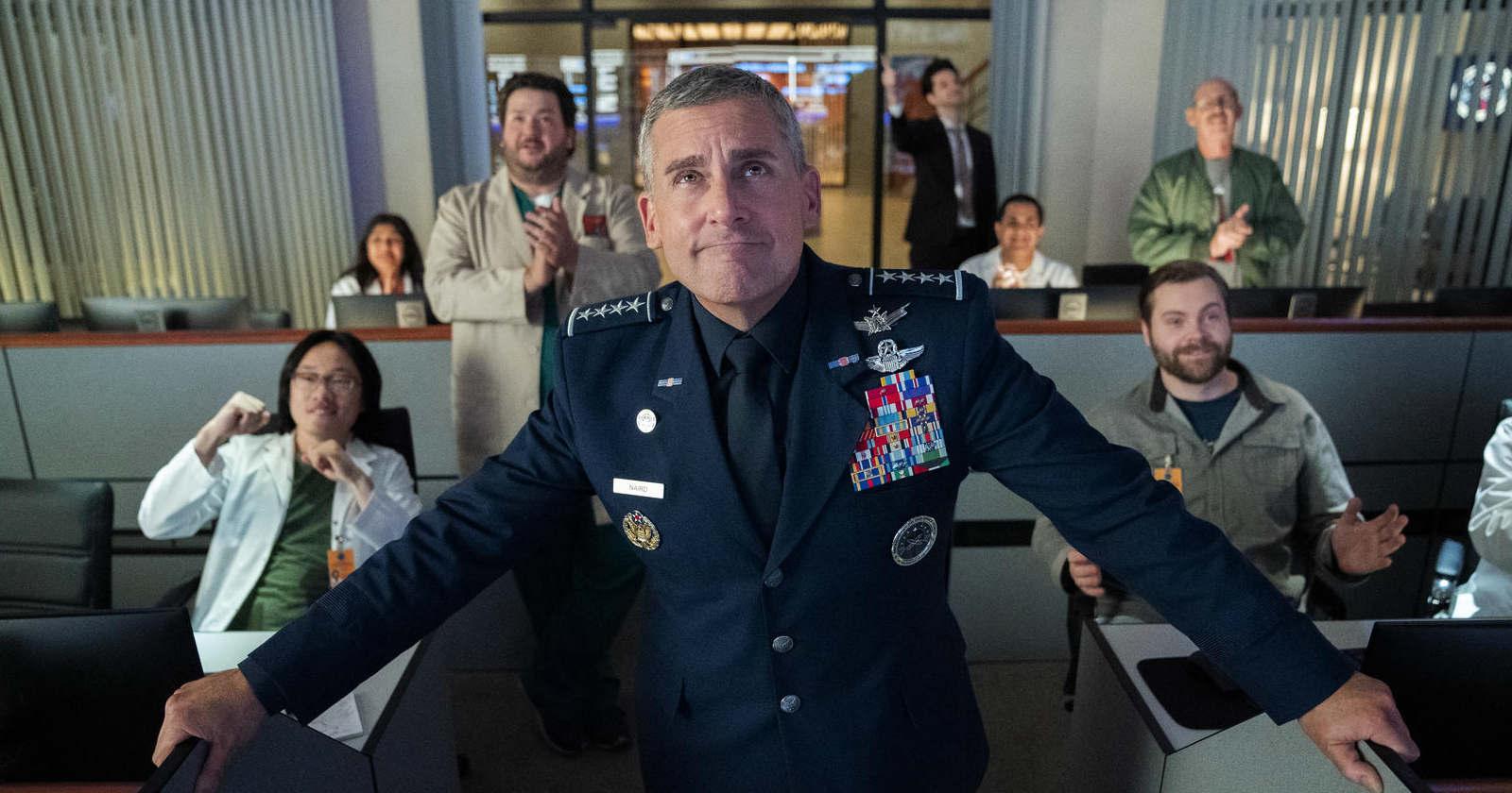 Space Force: la comedia de Steve Carrell ya debutó en Netflix