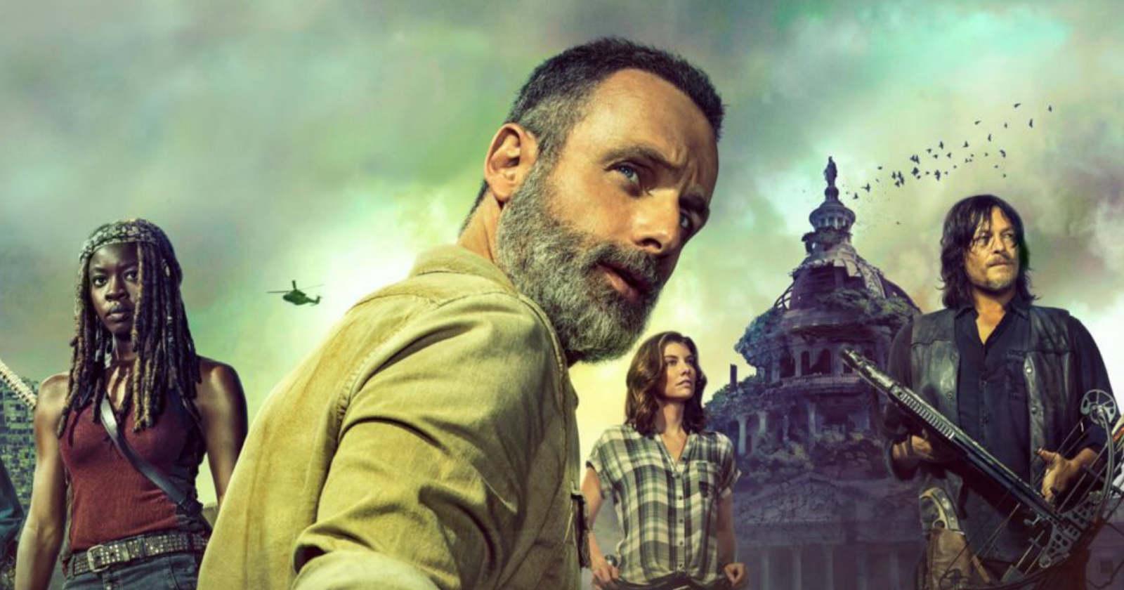 La última temporada de Rick Grimes en The Walking Dead finalmente llega a Netflix