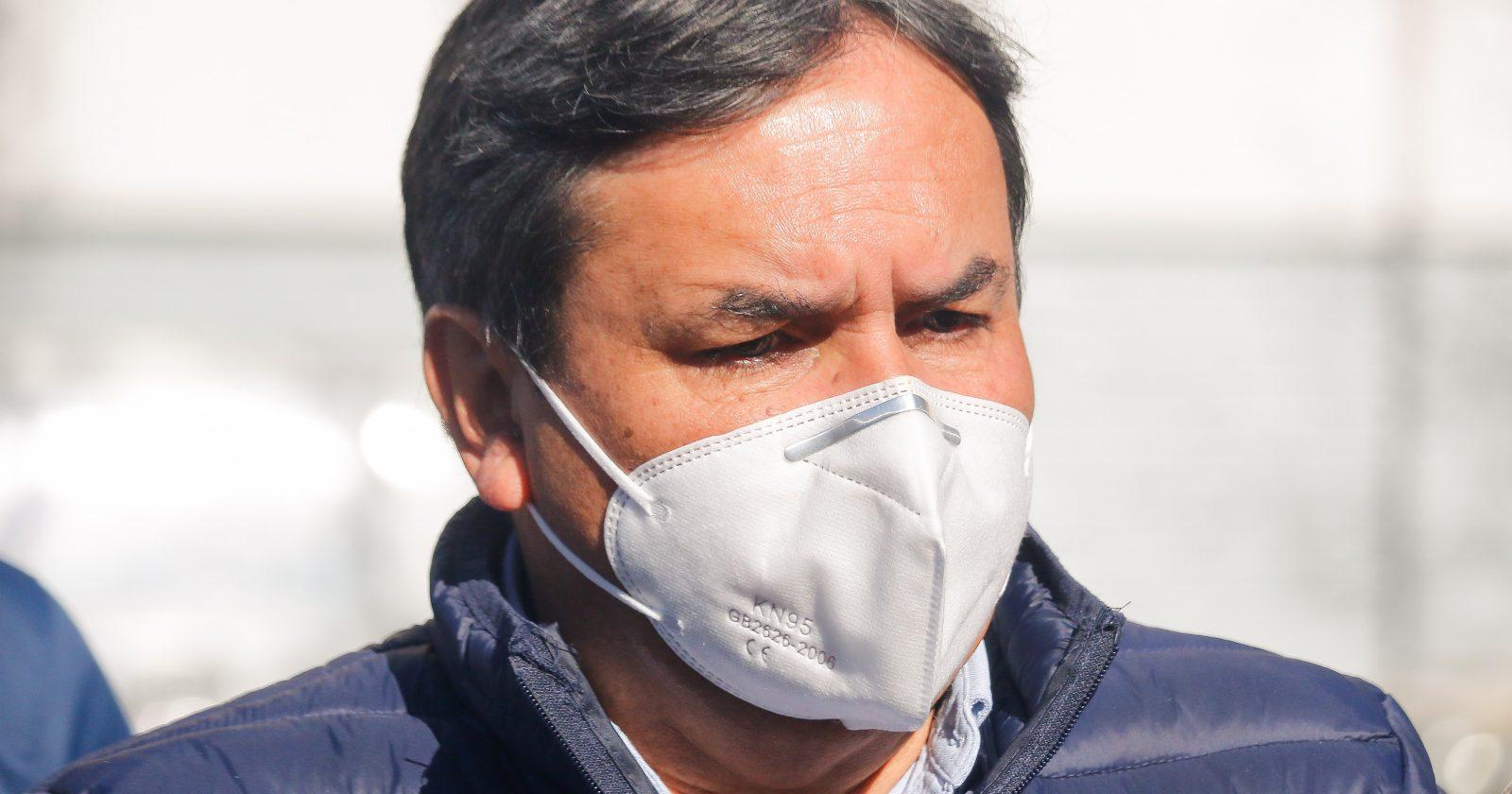 Alcalde de Quillota confirma que está contagiado de coronavirus