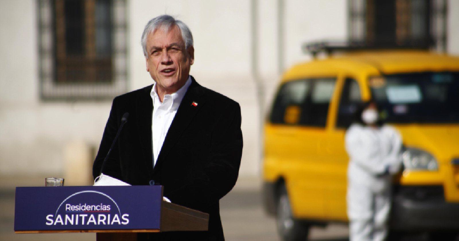 """""""Piñera llama al diálogo para alcanzar el acuerdo nacional en medio de la pandemia del coronavirus"""""""