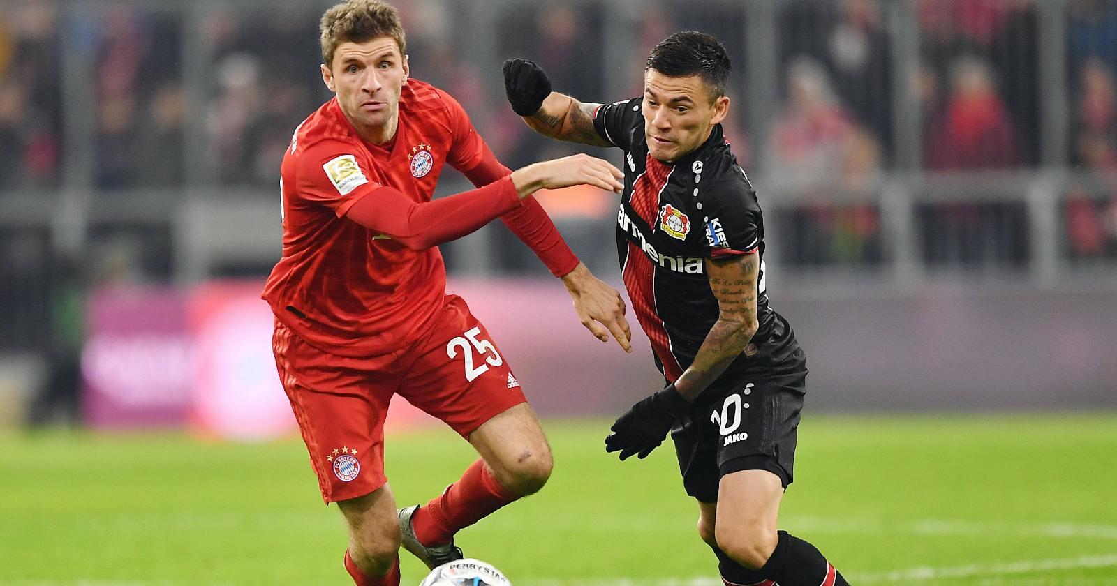 Bundesliga: El Leverkusen de Aránguiz caen ante el Bayern Múnich