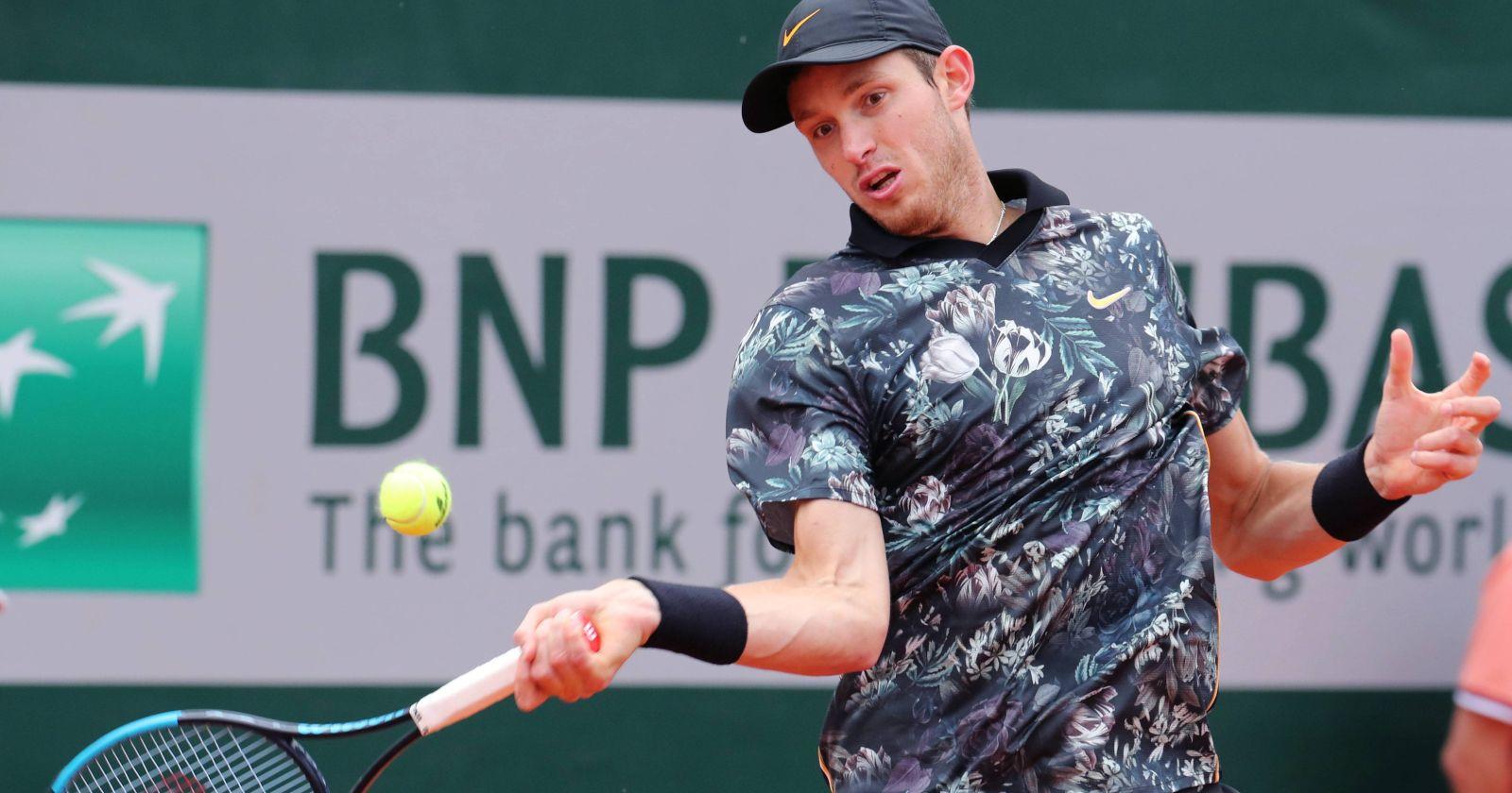 """""""Nicolás Jarry podría volver a Copa Davis en la serie ante Eslovaquia"""""""