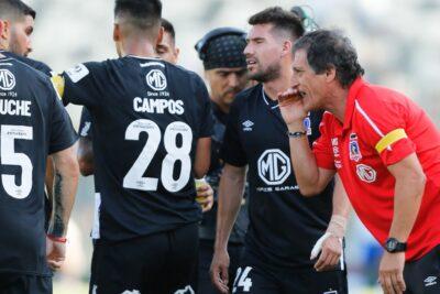 """Mario Salas: """"Los jugadores de Colo Colo se acoplaron con lo que queríamos"""""""