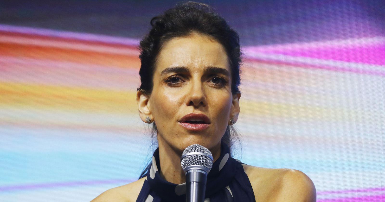 María Luisa Godoy dio positivo a examen de COVID-19