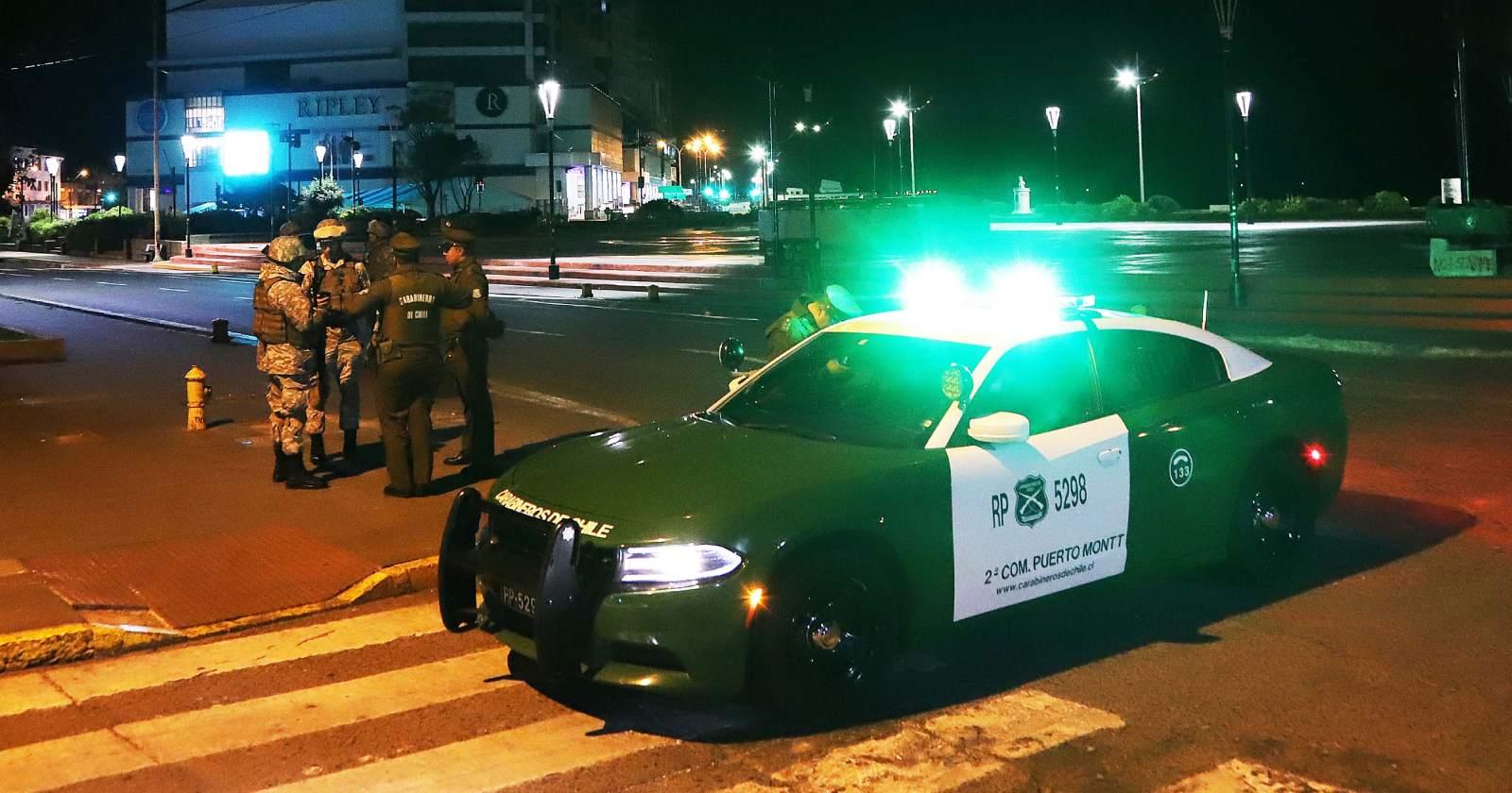 Un carabinero lesionado: sujeto murió tras evadir control policial en La Serena
