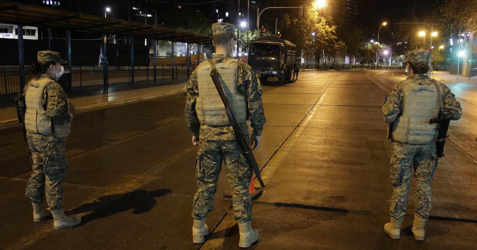 Soldado murió atropellado cuando realizaba controles en toque de queda