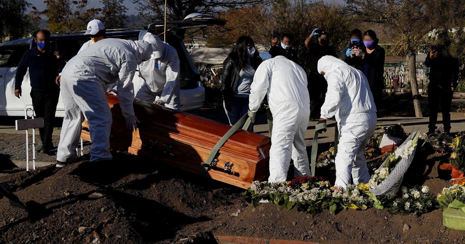 América supera a Europa en cifra de fallecidos por coronavirus