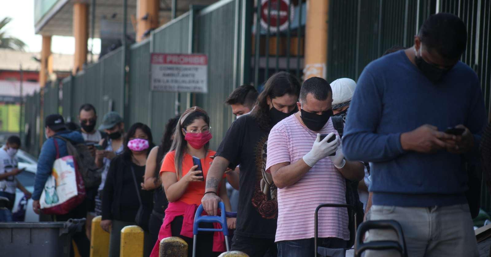 Cuarentena en la RM: movilidad sube hasta un 9% durante el fin de semana