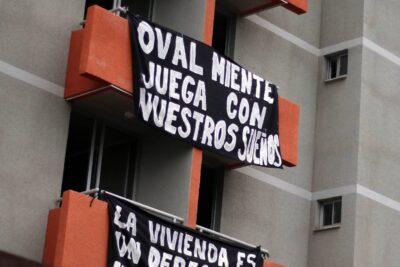 Vecinos de Cerro Navia se tomaron departamentos de proyecto habitacional