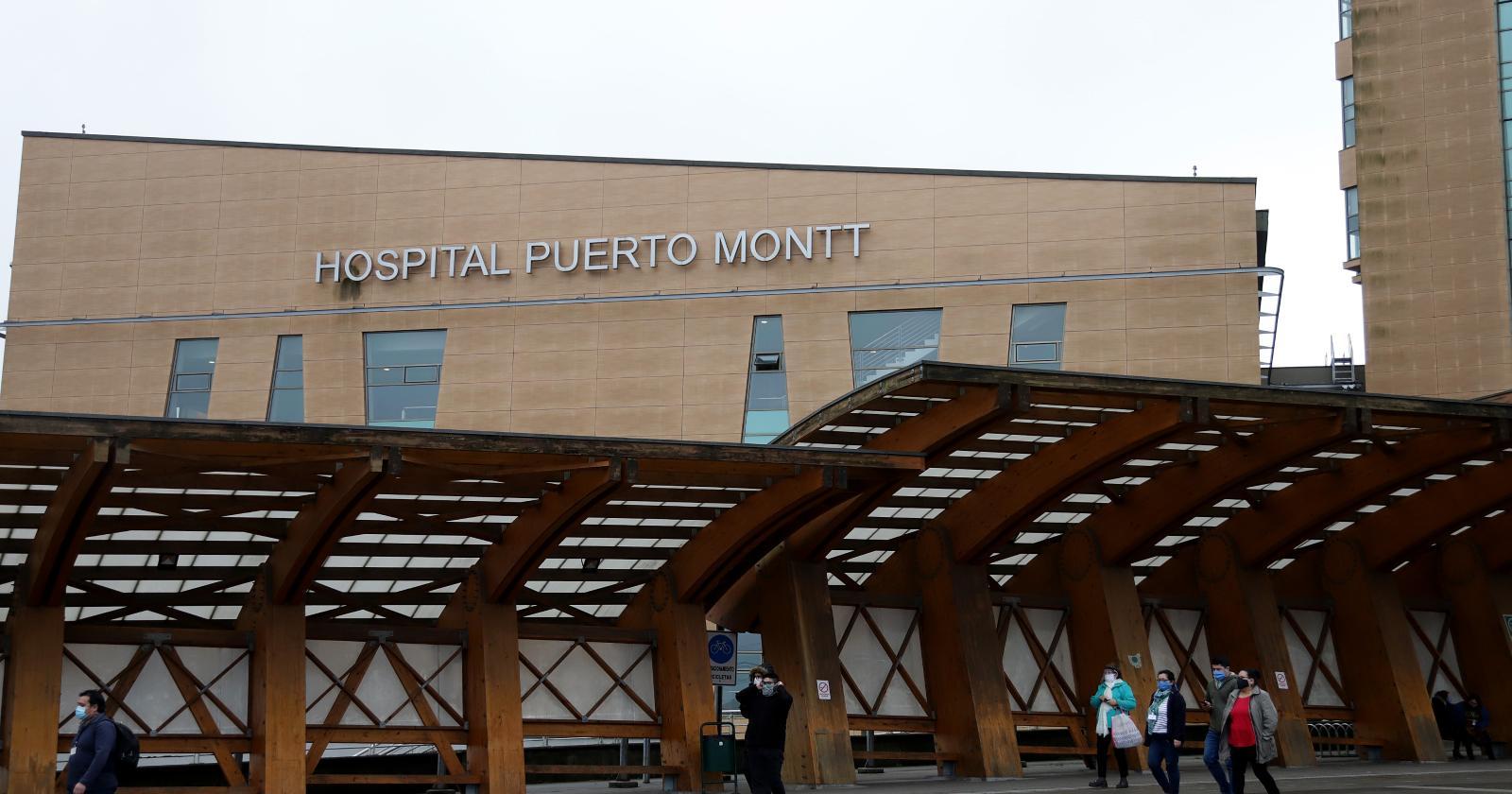 """""""Más de 80 funcionarios en cuarentena tras brote de COVID-19 en hospital de Puerto Montt"""""""