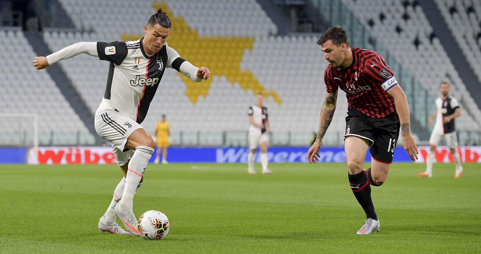 Juventus avanzó a la final de la Copa Italia tras eliminar al AC Milan