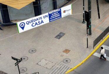 Casos y fallecidos por coronavirus en las comunas de Santiago