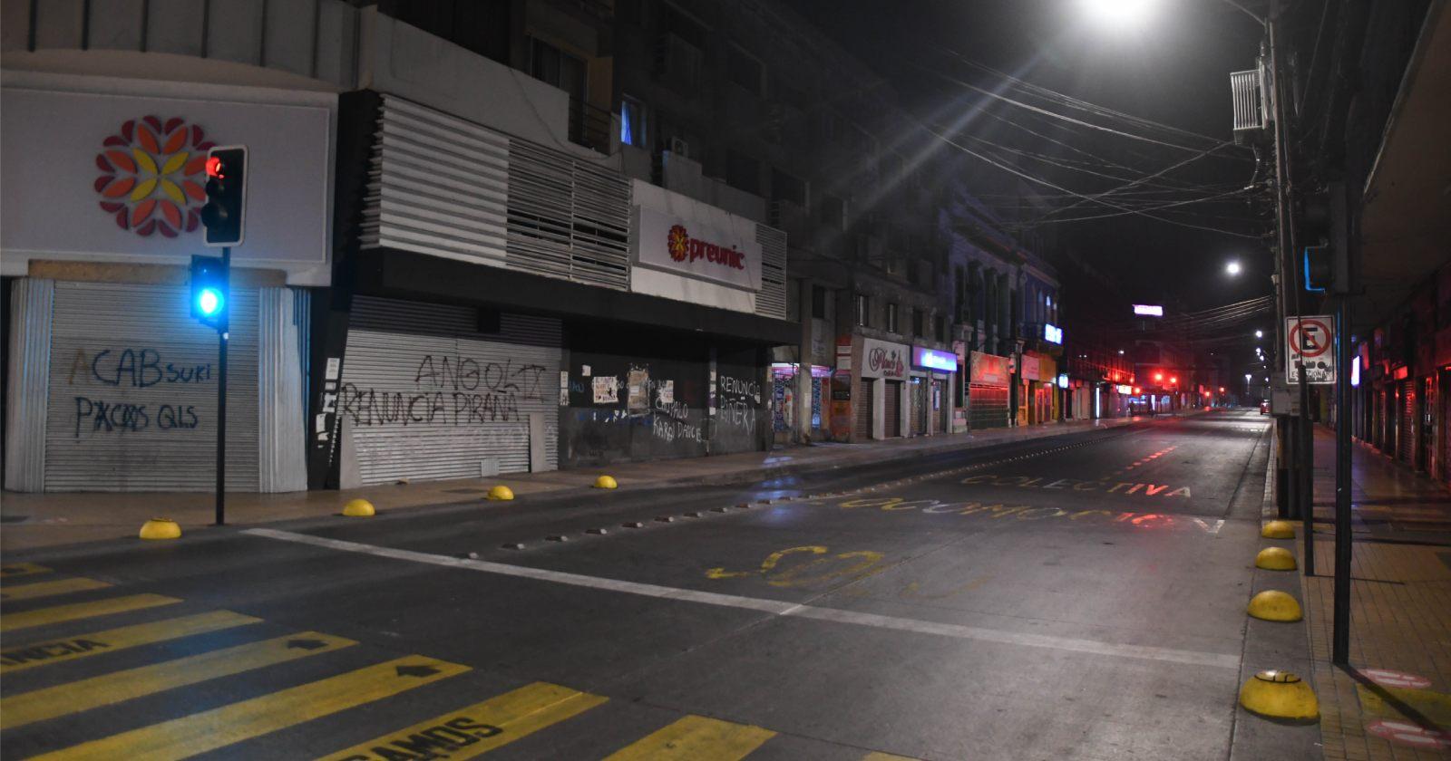 """""""Antofagasta prohibió circulación de vehículos en el centro de la ciudad"""""""