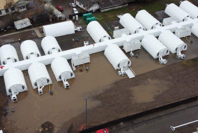 Hospital modular del Barros Luco inundado: el origen de una denuncia a medias