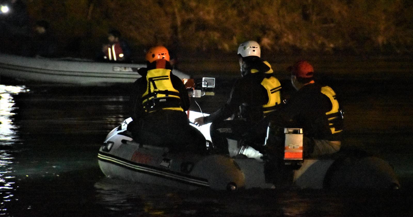 Intensa búsqueda de mujer desaparecida tras crecida de río en Coquimbo