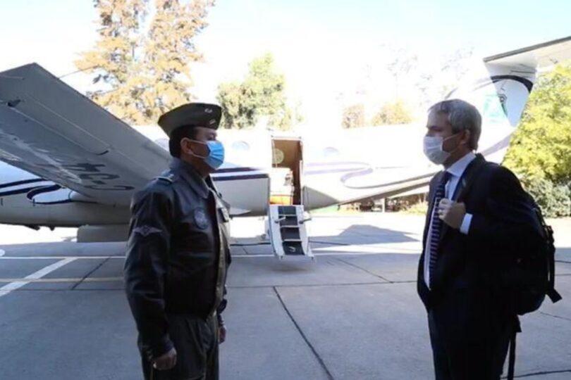 Ministro Blumel viajó a Valdivia para potenciar coordinación policial en la zona