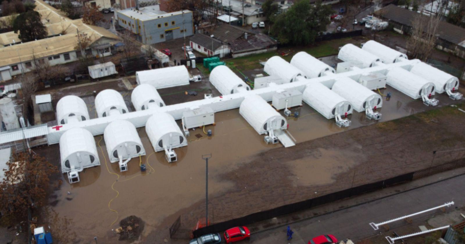 Descartan inundación en hospital modular del Barros Luco