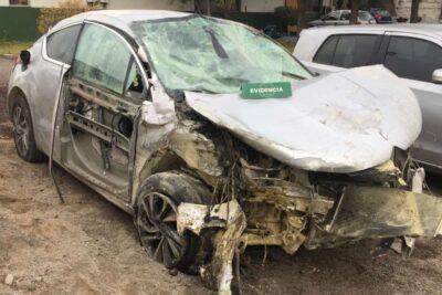 Adolescente de 14 años protagonizó accidente de tránsito en medio de persecución policial