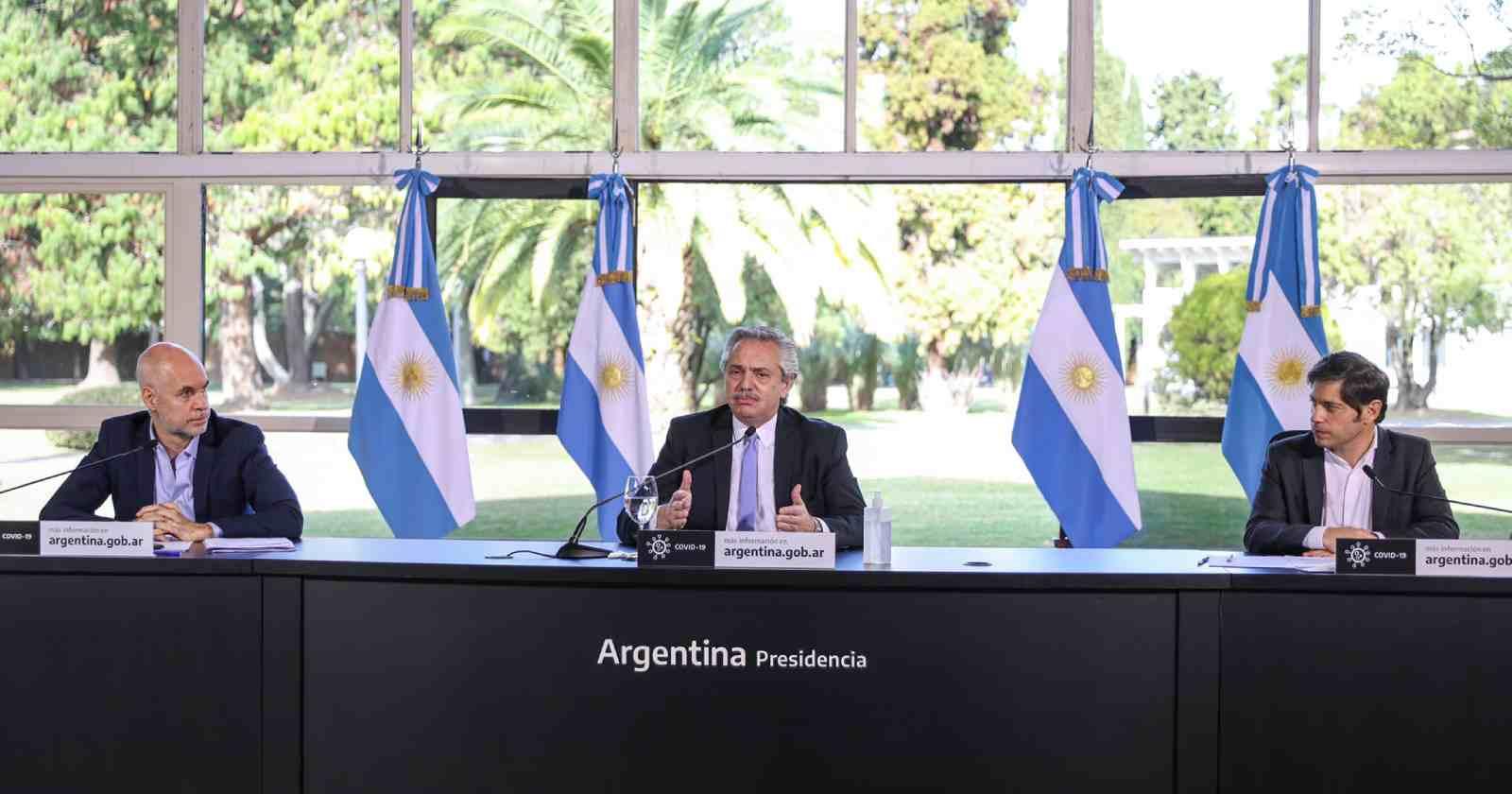"""""""Argentina endurece la cuarentena en Buenos Aires por alza en los contagios"""""""